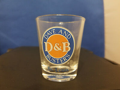 Dave and Buster St. Louis Shot Glass
