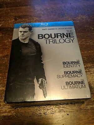 The Bourne Trilogy (Blu-ray Disc, 2010, 3-Disc Set) BRAND NEW SEALED!