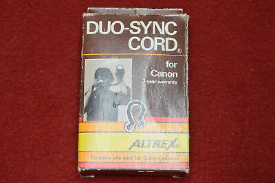 ALTREX Off-Camera Flash Sync Cord Flashgun Cable For Canon