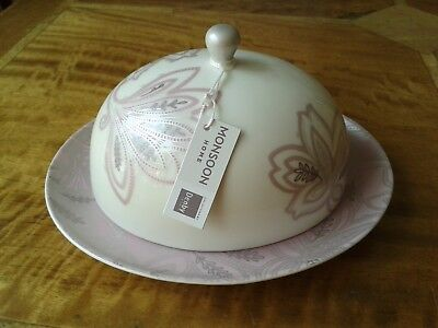 Monsoon Chantilly by Denby Butter / Cheese Dish *New & Boxed*