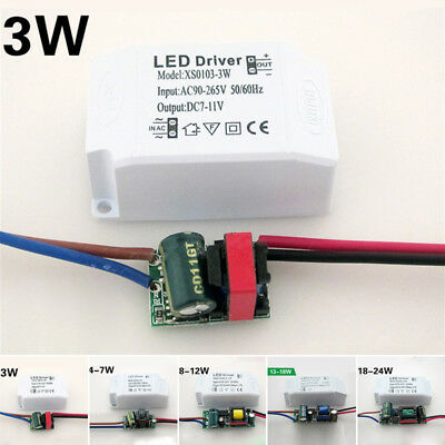3W-24W LED Driver Adapter Transformer Power Supply For Ceiling Lights Panel Lamp