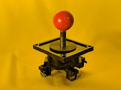 WICO ORIGINAL ARCADE GAME RED JOYSTICK used great condition. FREE SHIPPING
