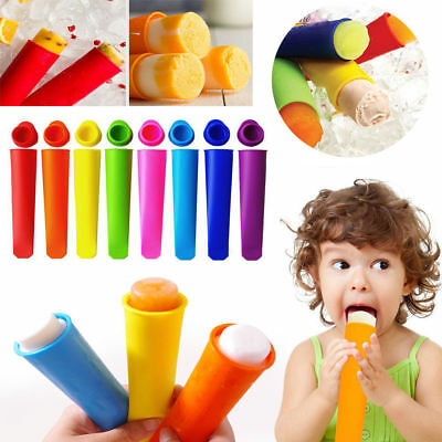 Silicone Ice Cream Lolly Yoghurt Pole Mold Lollies Maker Push Up Lolly Mould