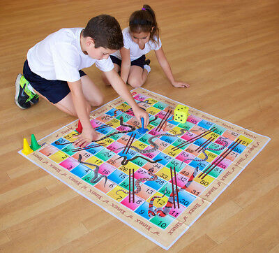 Snakes And Ladders Traditional Childrens & Family Board Game UK