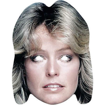 Farrah Fawcett Retro Celebrity Actor Charlies Angels - All our Masks Are Pre Cut