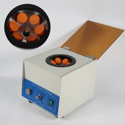 Electric Benchtop Centrifuge Lab Practice 4000rpm 6*50ml Centrifuges TOP