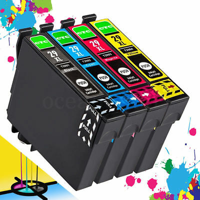 4 Ink Cartridges FOR EPSON XP245 XP247 XP235 XP342 332 442 445 Printers Non OEM
