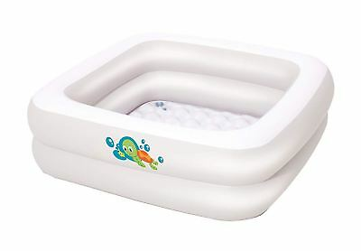 Bestway Inflatable Baby Bath Tub for Home and Travel - White