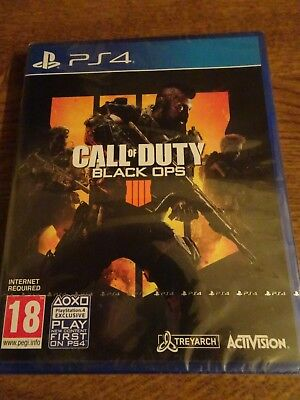 CALL of DUTY Black OPS IIII, jeux PS4 Neuf (sous blister) Import UK