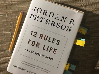 12 Rules for Life: An Antidote to Chaos by Jordan Peterson (eBooks, 2018) NEW