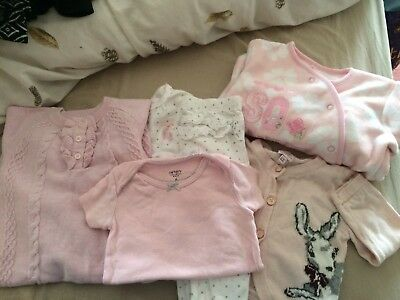 6-9 Month Baby Girl Bundle Includes Ted Baker Boots Miniclub And Carter's
