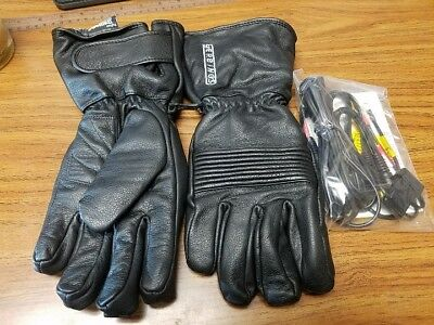NEW Gerbings Women's Heated Leather Gloves