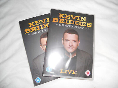 """Kevin Bridges Live """"the Brand New Tour"""" 2018 Never Played, Still Sealed Mint."""