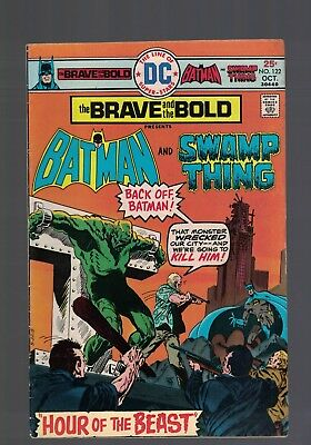 DC Comics the Brave and The Bold # 122 Oct 1975 Batman & Swamp thing 25c USA