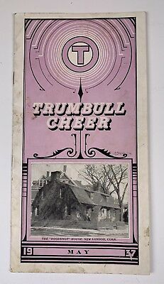 Advertising Magazine Trumbull Electric May 1937 Plainville CT
