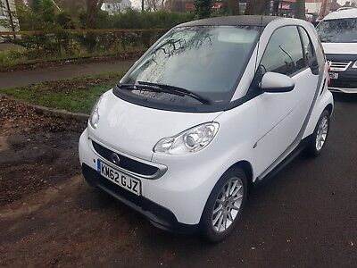 Smart Fortwo Pure 61 Mhd Auto 451 Coupe 2012 62 Plate Very Low Milage 6276 Miles