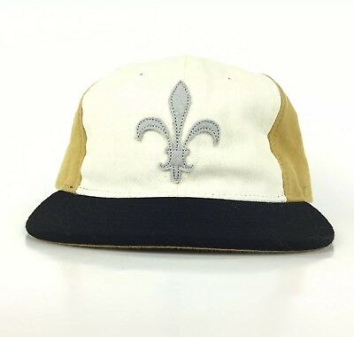 fff945ada21 Billy Reid   Ebbets Field Fleur de Lis Lily Symbol Baseball Cap Hat Asj Men  USA