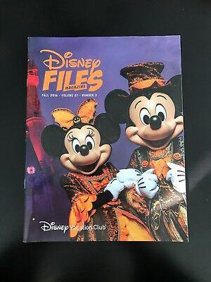 Disney Files Magazine Fall 2018 New - Mickeys Not So Scary Halloween Party
