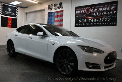 2013 Tesla Model S 4dr Sedan Performance BEST COLOR . LOADED. CARFAX CERTIFIED. CALL 954-744-1177