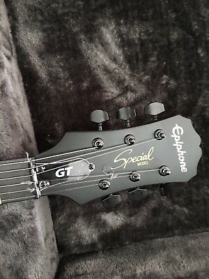 New Demi Lovato personally Signed Epiphone GT Speacial Guitar and Case