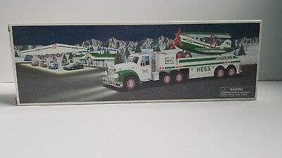 Hess 2002 Toy Truck and Airplane