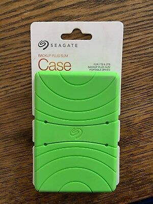 Seagate Backup Plus Slim Case Lime Green (STDR401) Compatible With 1TB & 2TB
