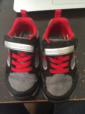 d572f69ecfa6c9 Stride Rite Made to Play Toddler Boys Shoes M2P Dwyer Grey Blk Rd Size