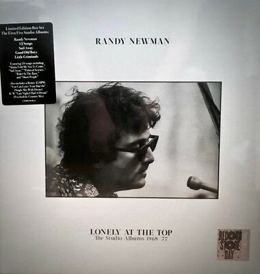 "NONESUCH 5-LPs+7"" RSD 558519-1: Randy Newman - Lonely At The Stop - 2017 SEALED"