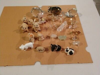 Pig Collection 23 total figurines