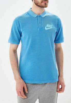 f35a2679a NEW Nike Sportswear NSW Matchup Washed Polo Men's Shirt Blue Tennis  886491-482