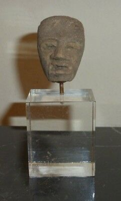 Pre-Columbian Teotihuacan Artifact Mounted Head