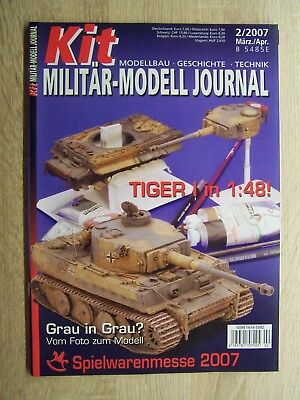 Kit Militär Modell Journal 2/2007