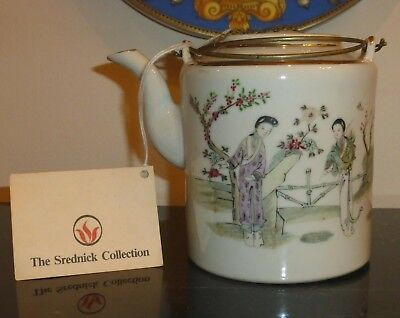 Antique Chinese Porcelain Famille Rose Teapot The Scrednick Collection
