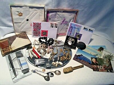 Loft Find Job Lot Vintage Costume Jewellery Collectables Bits Bobs Miscellaneous