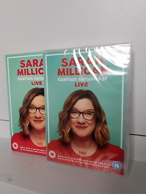 Sarah Millican: Control Enthusiast - Live Comedy Stand Up DVD - New