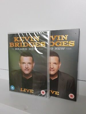 Kevin Bridges The Brand New Tour Live Stand Up Comedy DVD - New