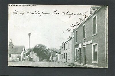 Colmonell Ayrshire - Main Street looking West p/u 1904