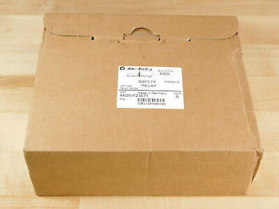 FACTORY SEALED - Allen-Bradley 440R-P23071 GuardMaster Safety Relay Ser.B