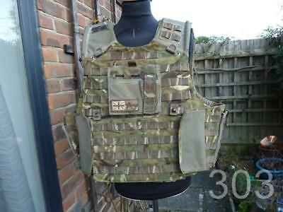 British Army Military MTP Body Armour Osprey Cover 190/120 Paintballing, Airsoft