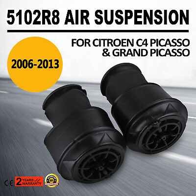 up Pair for Citroën C4 Picasso Suspension Spring Rear L+R 5102R8 / 5102.GN Use