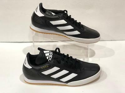0336e23c2 ADIDAS COPA SUPER Leather White Gold Indoor Soccer Shoes ( DB1880 ...