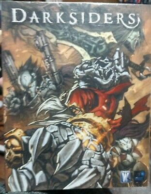 Darksiders Comic Art Book (Wildstorm) 2009 New with Poster Video Game TPB
