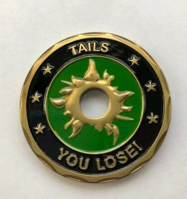 US Army Heads We Win, Tails You Lose Challenge Coin Z1