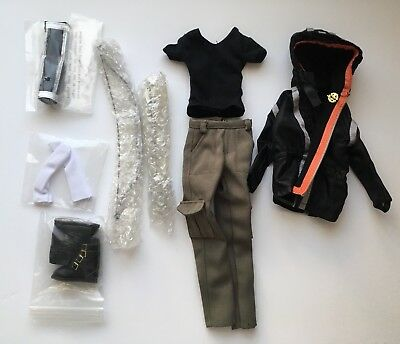 "OUTFIT ONLY_16"" Tonner doll_Katniss_Tyler body_The Hunger Games_NEW"
