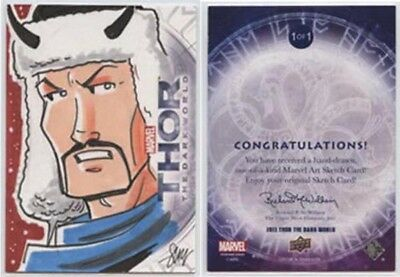 2013 Thor The Darl World>Sketch Card