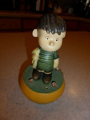 Vintage 1972 PEANUTS  ANRI Italy MUSIC BOX  Reuge Movement Close To You