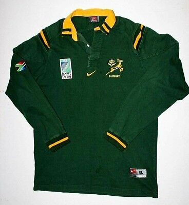 1096fe7a80f NIKE TEAM RUGBY South Africa Polo Style Shirt Mens Size XL - $49.99 ...