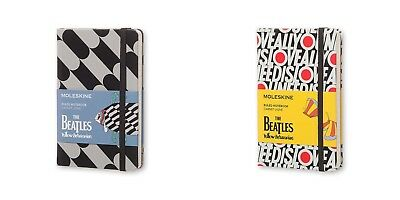 The Beatles: Limited Edition Moleskine Pocket NoteBook - Ruled - Ltd Ed Stickers