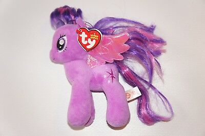 Ty Beanie Babies Plush - My Little Pony Twilight Sparkle with Tag - USED 37571cd92cbc