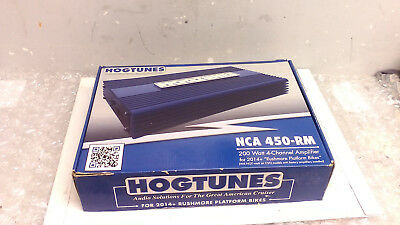 Hogtunes NCA 450-RM 4 Channel 200 watt Amplifier 2014-2016 Harley Touring
